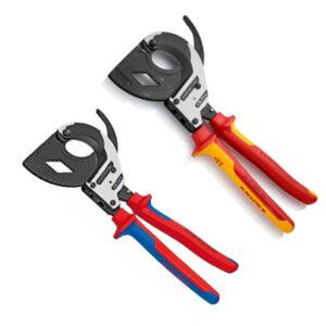 Cortacables y cortacables para cable trenzado